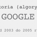 Algorytm Google od 2003 do 2015 roku